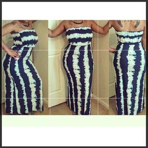 Trois Tye Dye Maxi Dress